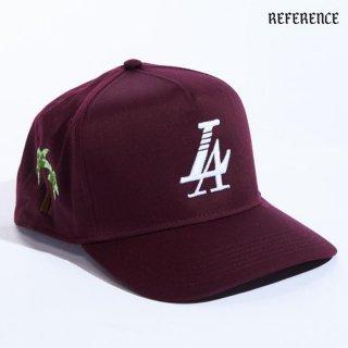 【送料無料】REFERENCE PARADISE SNAPBACK CAP【BURGUNDY】