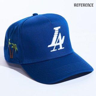 【送料無料】REFERENCE PARADISE SNAPBACK CAP【ROYAL BLUE】