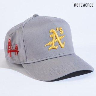 【送料無料】REFERENCE OAK SNAPBACK CAP【GRAY】