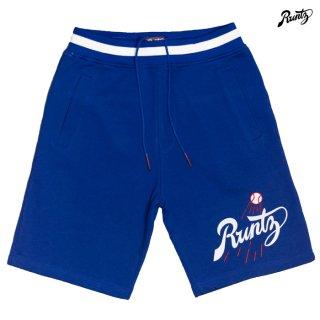【送料無料】RUNTZ LA RUNTZ SWEAT SHORTS【BLUE】