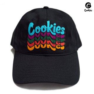 【送料無料】COOKIES SF PACIFICOS STRAPBACK CAP【BLACK】