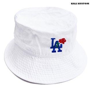 【送料無料】KALI KUSTOM BUCKET HAT【WHITE】