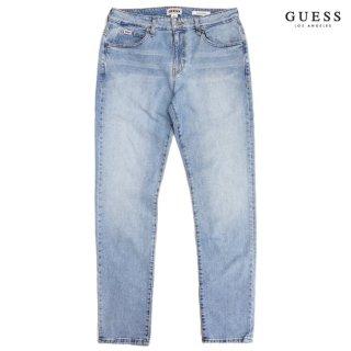 【送料無料】GUESS GO SLIM DENIM PANTS【WASH BLUE】