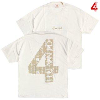 【送料無料】4 HUNNID LOGO Tシャツ【TAN】
