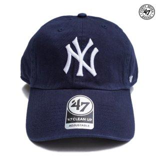 【メール便対応】'47 CLEAN UP CAP NEW YORK YANKEES【NAVY】