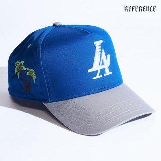 【送料無料】REFERENCE PARADISE SNAPBACK CAP【BLUE×GRAY】