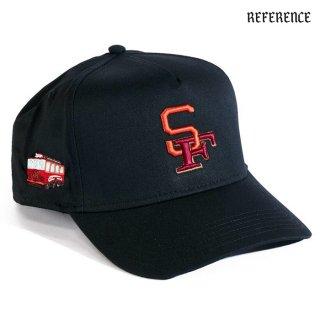 【送料無料】REFERENCE 9IANTS SNAPBACK CAP【BLACK】