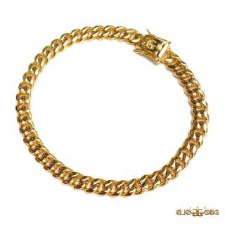 【送料無料】THE GOLD GODS MIAMI CUBAN LINK BRACELET【GOLD】