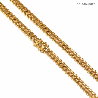 【送料無料】GOLDEN GILT MIAMI NECKLACE【GOLD】-24inch-