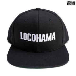 【送料無料】LOCOHAMA CLOTHING SNAPBACK CAP【BLACK】