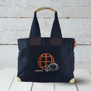 手刺繍バック 〜Global Citizen〜  【受注生産】