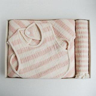 まいにちのオーガニックセット ピンク【出産祝い】 (ギフトボックス入り)