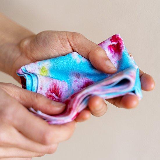 東北コットン 桜-SAKURA- TENUGUIチーフ 八重桜