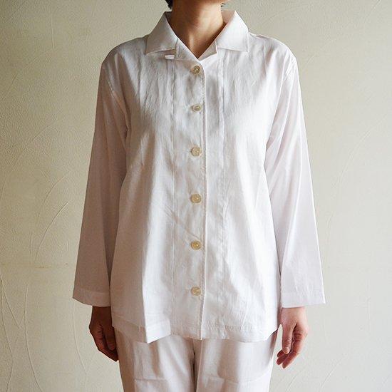80パジャマ レディース ホワイト