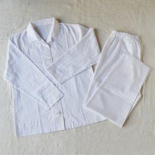 【数量限定】80パジャマ レディース ホワイト