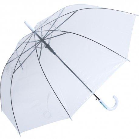 60cm ビニール傘 白手元