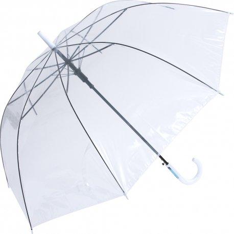 65cm ビニール傘 白手元