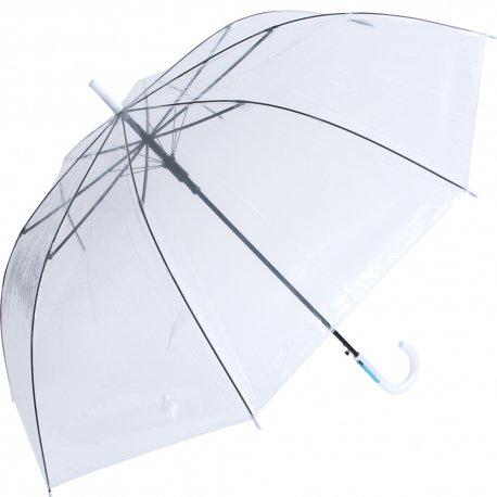 70cm ビニール傘 白手元