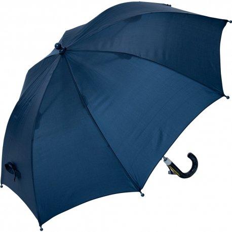 50cm 子供傘 グラス骨 ネイビー