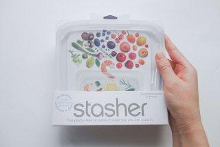 【stasher】 サンドイッチ(Mサイズ)オリジナルタイプ
