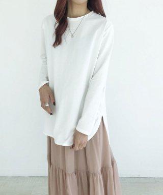 【anticrag】シンプルロングTシャツ