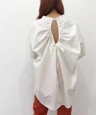 【anticrag】バックシャーリングチュニックシャツ