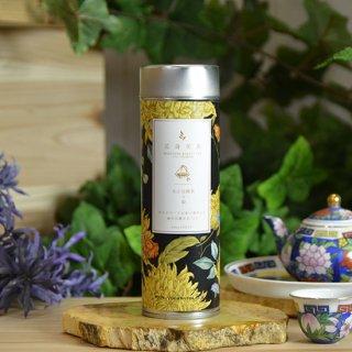 芯身美茶-缶(10パック)-疲れ目癒されTEA-【文山包種茶×菊】