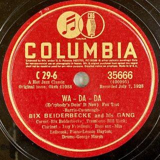 ビックス・バイダ−ベック(cor):WA-DA-DA / OL' MAN RIVER