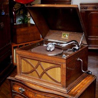 卓上型蓄音機HMV104 (オーク仕上)