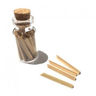 竹針(ガラス瓶入り25本)