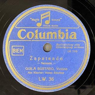 ギラ・ブスタボ(Vn): スペイン舞曲第6番op.23-2「サパテアード」(サラサーテ)/ 四つの小品op.17より「ブルレスク」(スーク)