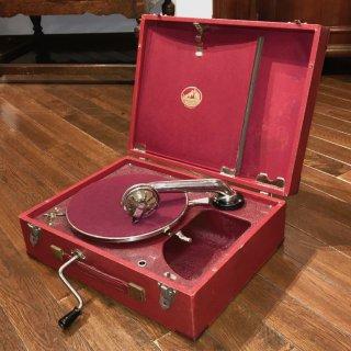 ポータブル蓄音機 HMV99 (赤色)