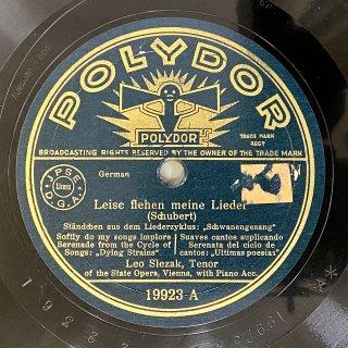 レオ・スレザーク(Ten): 白鳥の歌より「セレナード」/ 美しい水車小屋の娘より「焦燥」D.795-7(シューベルト)