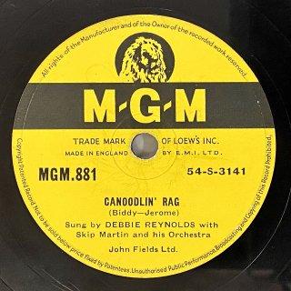 デビー・レイノルズ(Vo): CANOODLIN' RAG/(LOVE IS) THE TENDER TRAP