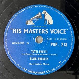 エルビス・プレスリー(vo): トゥッティ・フルッティ/ブルースウェード・シューズ