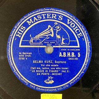 ゼルマ・クルツ(Sop):フィガロの結婚K.492より「恋とはどんなものかしら」(モーツァルト)/ディノラより「軽い影よ[影の歌]」(マイアベーア)