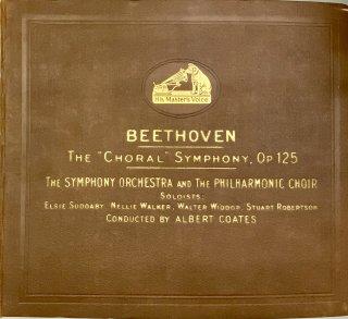 アルバート・コーツ(cond): 交響曲第9番ニ短調op.125「合唱」(ベートーヴェン)