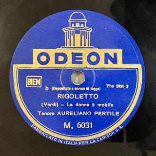 アウレリアーノ・ペルティーレ(Ten): リゴレットより「風の中の羽のように[女心の歌]」 「あれかこれか」(ヴェルディ)