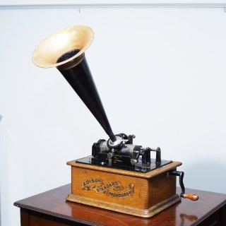 蝋管蓄音機 エジソン スタンダード A型