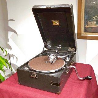 ポータブル蓄音機 HMV102 D (黒色)