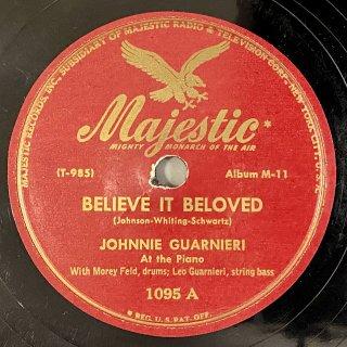 ジョニー・グァルネリ(p) : BELIEVE IT BELOVED / FLYING HOME