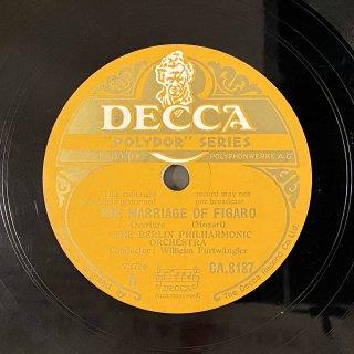 ヴィルヘルム・フルトヴェングラー(cond) : フィガロの結婚K.492「序曲」/ 後宮からの逃走K.384「序曲」(モーツァルト)