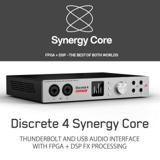 【Edge Solo & ハンドメイド ケーブル ペア も!】Antelope Audio Discrete 4 Synergy Core