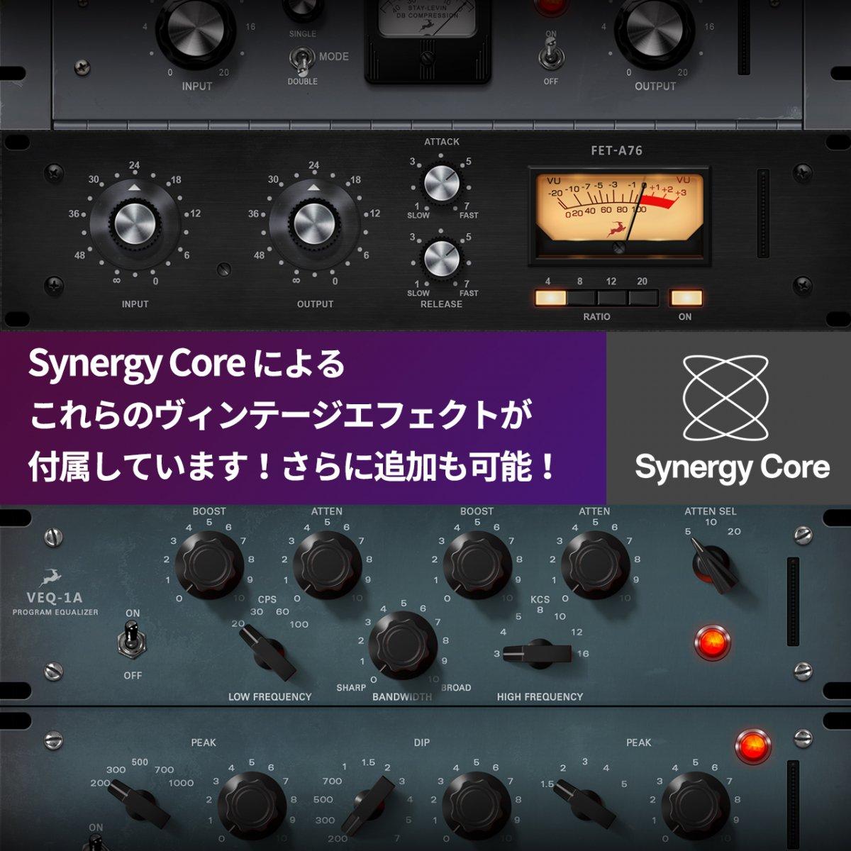 【8chディスクリートマイクプリ!即納!】Antelope Audio Discrete 8 Synergy Core