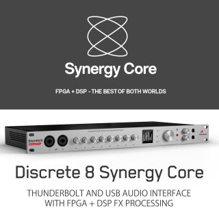 【8chディスクリートマイクプリ!在庫限定 ★今ならクーポンでお得!】Antelope Audio Discrete 8 Synergy Core