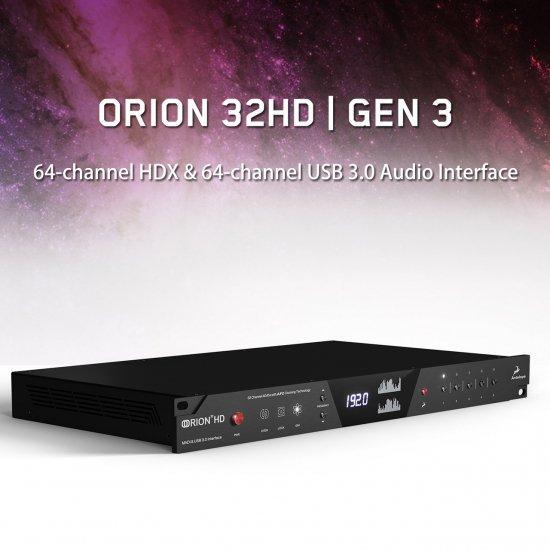 Orion 32 HD | Gen3 (HDX & USB3.0 Interface)
