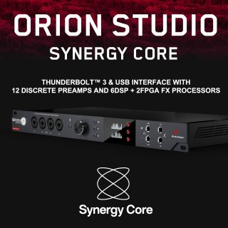 【6 x DSP + 2 x FPGAによる驚くべきサウンド、パワー! 】Antelope Audio Orion Studio Synergy Core