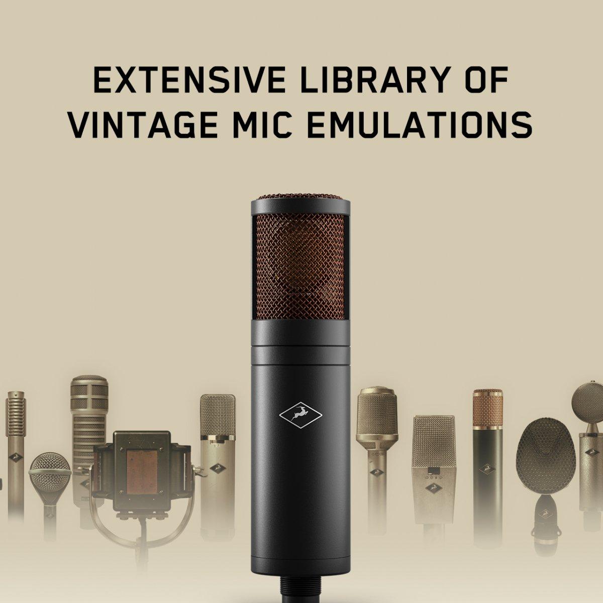 Antelope Audio EDGE DUO ラージダイアフラム コンデンサー マイクロフォン