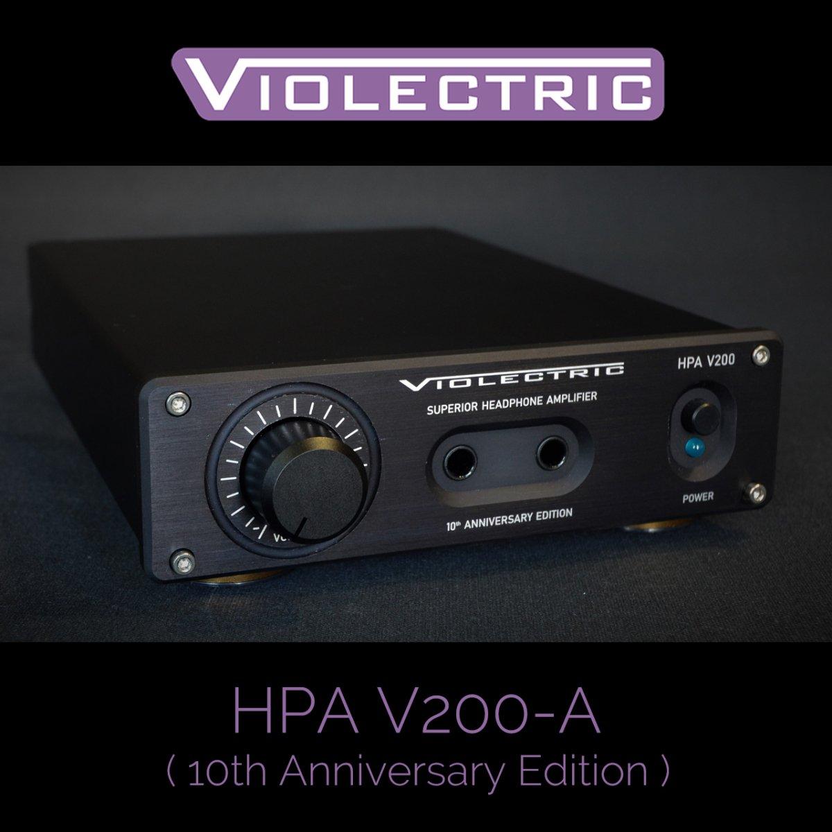 【クーポンでお得!ハンドメイドケーブル プレゼント!】 HPA V200-A (10th Anniversary Edition)