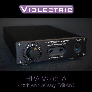 【3月はハンドメイドケーブル プレゼント!】 HPA V200-A (10th Anniversary Edition)